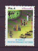 Pakistan - 2001 The 50th Anniversary Of Pakistan Ordinance Factories, Wah 1v. Mnh - Pakistan