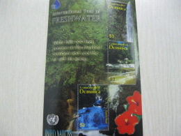 Dominica International Year Of Fresh Water - Dominica (1978-...)