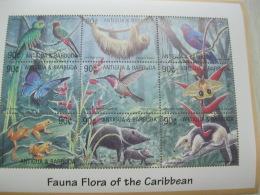 Antigua Barbuda Fauna And Flora Wild Life Birds - Antigua And Barbuda (1981-...)