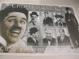 Antigua Barbuda Chaplin Movie - Antigua And Barbuda (1981-...)