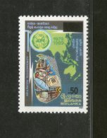 Sri Lanka 1989 Asia-Pacific Telecommunity Satellite Surcharge Sc 1574 MNH # 3703 - Sri Lanka (Ceylon) (1948-...)