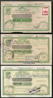 Pakistan 6 Different Postal Order With Additional Stamps Affixed Used # 5245 - Pakistan