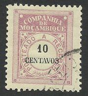 Mozambique Company, 10 C. 1916, Scott # J27, Mi # 27, Used. - Mozambique