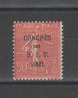 FRANCE - TIMBRE NEUF ** - SEMEUSE SURCHARGEE CONGRES DU BIT - YVERT 264 - France