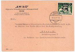 1945, 5 Pfg. , Bedarfs - EF  , #9157 - 1945-60 Briefe U. Dokumente