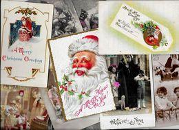 Lot 1138 De 10 CPA Père Noël Santa Claus Dont Gaufrées Déstockage Pour Revendeurs Ou Collectionneurs - 5 - 99 Karten