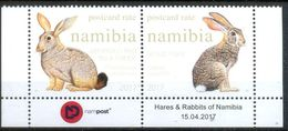 Namibia 2017 Fauna, Hares, Rabbits - Namibia (1990- ...)