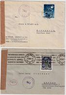 1948 - 49, 5 Mal Portogerechte EF   , #9160 - 1945-60 Briefe U. Dokumente
