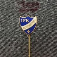 Badge (Pin) ZN006520 - Football (Soccer / Calcio) Sweden IFK Idrottsföreningen Kamraterna Norrköping - Football