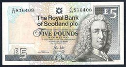 Scotland - 5 Pounds 2010 - Royal Bank Of Scotland - P352e - [ 3] Scotland