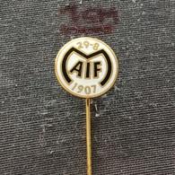 Badge (Pin) ZN006527 - Football (Soccer / Calcio) Sweden Motala MAIF - Football