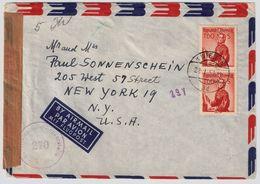 1957, Portogerechte MeF, Nr. 917   , #9165 - 1945-60 Briefe U. Dokumente