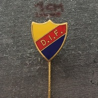 Badge (Pin) ZN006535 - Football (Soccer / Calcio) Sweden DIF Djurgårdens (Djurgardens) - Football