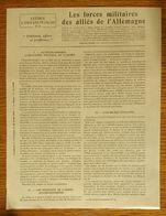 Lettres à Tous Les Français N°5 Du Général Malleterre 1916 - Les Forces Militaires Des Alliés De L'Allemagne - Documentos Históricos