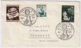 "1954, "" Christkindl ""  Nach Australien !! R ! #9167 - 1945-60 Briefe U. Dokumente"