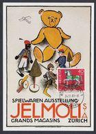 SWITZERLAND 1983 MAXIMUM CARD TOYS - Enfance & Jeunesse
