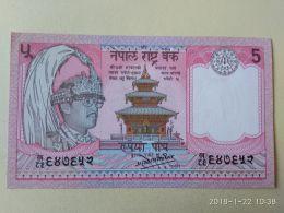 5 Rupees 1987 - Nepal