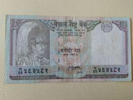 10 Rupees 1987 - Nepal