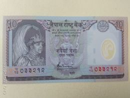 10 Rupees 2002 - Nepal