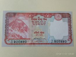20 Rupees 2017 - Nepal