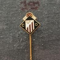 Badge (Pin) ZN006562 - Football (Soccer / Calcio) Spain Caudal Deportivo De Mieres - Football