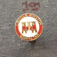 Badge (Pin) ZN006566 - Football (Soccer / Calcio) Gibraltar Lincoln Winston - Football