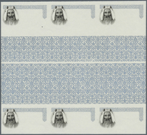 ** Adschman / Ajman: 1965, Definitives 'Indigenous Fauna' 25np. Regal Angelfish And 35np. Dromedary Bot - Ajman