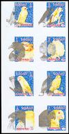 ** Adschman - Manama / Ajman - Manama: 1972, BIRDS - 1 Item; Collective Single Die Proof For The Set Wi - Manama