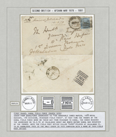 """Br Afghanistan: 1879 (March), Afghanistan Second War, Cover To Peshawar Field Force/""""F No.8"""" First Phas - Afghanistan"""