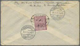 Br Afghanistan: 1924-30: Three Pre-UPU And One UPU Period Covers To GERMANY, With 1) 1924 Cover To Berl - Afghanistan