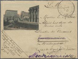 Br Armenien - Besonderheiten: 1918. Illustrated Envelope Written From Port Said Addressed To Madagascar - Armenia