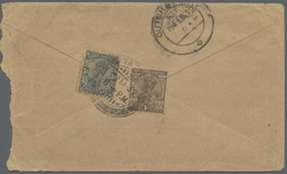 Br Bahrain: 1932-39: Four Covers From Bahrain To Cutch-Mandvi, India, With 1932 Cover Franked India (un - Bahrain (1965-...)
