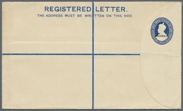 "GA Bahrain: 1934, 1 Anna 3 Pies Registered Stationery Envelope From India Overprintes ""BAHRAIN"" Very Fi - Bahrain (1965-...)"