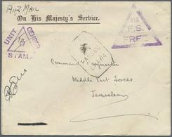 Br Birma / Burma / Myanmar: 1942. Stampless Air Mail Envelope From Maymyo, Field Post Office Headed 'On - Myanmar (Burma 1948-...)