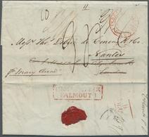Br Ceylon / Sri Lanka: 1835. Pre-stamp Envelope Written From Colombo Dated '12th Nov 1835' Addressed To - Sri Lanka (Ceylon) (1948-...)
