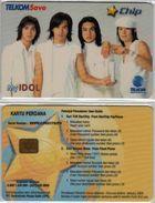 INDONESIA INDONESIEN -TELKOM SAVE - CP-001 My Idol - Very Hard To Find - RRRR - Indonesia