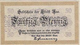 Deutschland Notgeld 50 Pfennig AUE /47M/ - [11] Local Banknote Issues