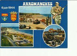 CPM ARROMANCHES MULTIVUES - Arromanches