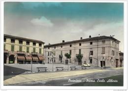 OCCIMIANO -  PIAZZA CARLO ALBERTO   VIAGGIATA FG - Alessandria