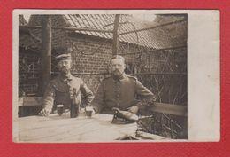 Secteur Ypres -  Carte Photo -  Soldats Allemands -  52 Res Div - 1/4/1915 - Ieper
