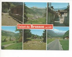 11013  SALUTI DA BRUSSON    1988 - Italy