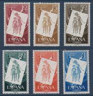 """ESP 1956  """"pour L'enfance Hongroise""""  N° YT 891-896 ** MNH - 1931-50 Unused Stamps"""