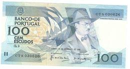 Portugal - 100 Escudos (100$00) 24 November 1988 - UNC - Portugal