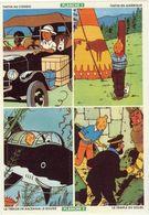 BD. Tintin. Planche N°2. Publicité Des Desserts ALSA - 1991 - VR_BR1 - Autocollants