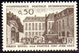 "FR YT 1387 "" Conférence Postale "" 1963 Neuf** - Unused Stamps"