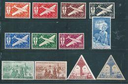 Timbres Des Cote De Somalis PA De 1967 A 1943   N°1 A 12 Complet   Neufs * - Costa Francese Dei Somali (1894-1967)