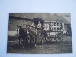 Militaire - Belgie // Camp De Beverloo // Ambulance Cheval // 19?? - Kazerne