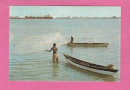 DJIBOUTI - PÊCHE A L'EPERVIER - Djibouti