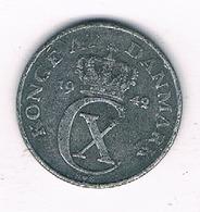 1 ORE  1942 DENEMARKEN /197G// - Denmark