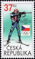 Czech Republic - 2018 - Winter Olympic Games In Pyeongchang - Czech Olympic Team - Mint Stamp - Neufs